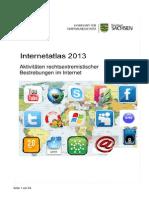 VS Sachsen - Internetatlas Naziaktivitäten im Internet 2013