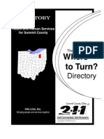 Where to Turn Sept 2009 - Complete Directory