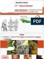 genetics powerpoint week of january 6