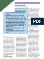 Pediatría - Desarrollo y crecimiento
