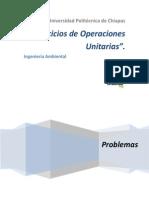 Ejercicios de Operaciones Unitarias