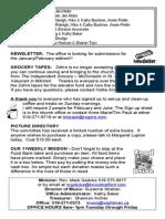Sunday, January 12, 2014 Knox Bulletin