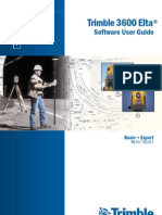 3600 Elta Software User Guide