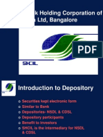 Stock Holding Corporation of India Ltd, Bangalore