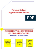 Personal Selling Approaches and Process