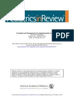 Adenomegalia PDF Pediatria