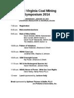 2014 Symposium Program
