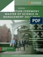 Invitation MSc21 Graduation Online