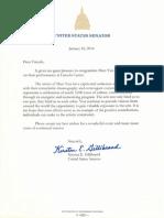 Shen Yun Proclamation from Senator Gillibrand