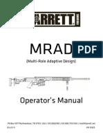 82321261 Barret MRAD Rifle Manual