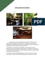 La Casa Kaufmann o Casa de La Cascada. Patricia Amador Martin.