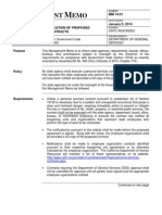 California Department of General Services Management Memo, Jan. 9, 2014