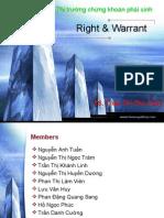 Right & Warrant