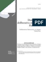 Democracia Deliberativa Resumen