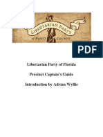 Pasco County Libertarian Party Precinct Captain Guide