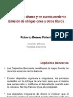 DEPOSITOS AHORRO CUENTA CORRIENTE Y EMISIÓN OCTUBRE 2013