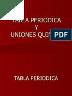tabla periodica y uniones quimicas