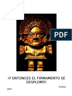 Y ENTONCES EL FIRMAMENTO SE DESPLOMÓ