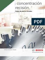 Bosch, El Programa de Hojas de Sierra Circular