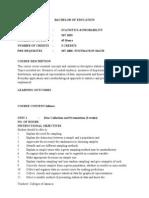 MT 202S-Statistics & Probability