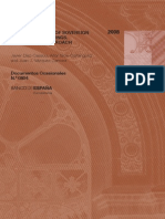 2008 banco de españa debt restructuring