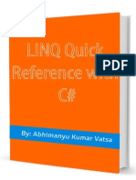 LINQ Quick Reference With C#