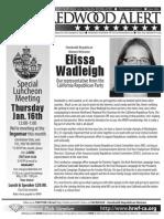 January 2014 HRWF Redwood Alert