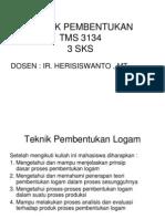 Presentasi 1 Teknik Pembentukan Logam
