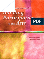 Building Participation in the Arts