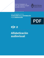 Eje 2 - Alfabetización audiovisual