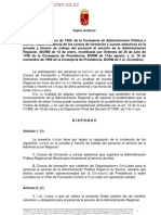 8744-Orden 9-Enero-92 Horario Cursos de Formacion