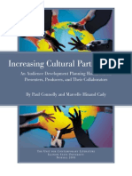 Increasing Cultural Participation