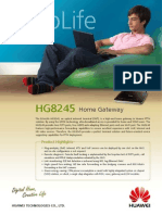 Huawei EchoLife HG8245(GPON) Brief Product Brochure(2011!01!20)