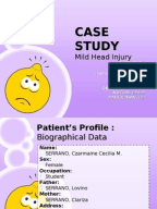 Nursing Care Plan TBI