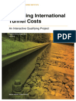 Analysing Intl Tunnelling Costs Worcester(2012)