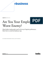 00222 Are You Your Employees Worst Enemy