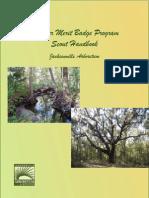 Jacksonville Arboretum - Boy Scout Merit Badge Program - Student Manual