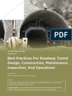 Best Practices Roadway Tunnels