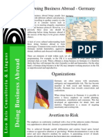 Doing Business Abroad - Germany - Task 3784
