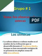 Diapositivas de Los Olmecas y Los Aztecas