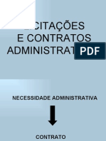 Licitacao e Contratos Administrativos