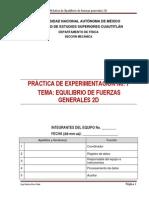 p7 Equilibrio de Fzas Generales 2d