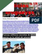 Noticias Uruguayas Viernes 10 de Enero Del 2014
