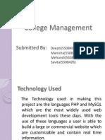 colg management project