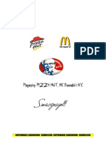 Pizza KFC MC Donald