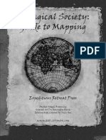 A Magical Society Guide to Mapping