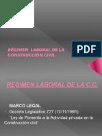 Regimen Laboral de La c.c.