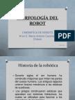 MORFOLOGÍA DEL ROBOT