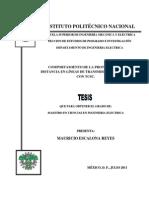 Comportamiento de La Proteccion de Distancia en Lineas de Transmision Equipadas Con Tcsc