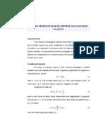 4. Studiul proprietăţilor de dispersie ale unor medii elastice.